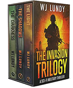The Invasion Trilogy Set by WJ Lundy